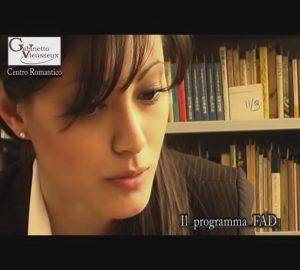 """Andrea Poli - Gabinetto Vieusseux """"Il programma F.A.D"""" - Lamberto Salucco - Rebus Multimedia"""