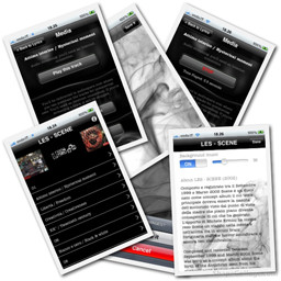 L.E.S. Lazzeri Ermini Salucco Scene app - Rebus Multimedia