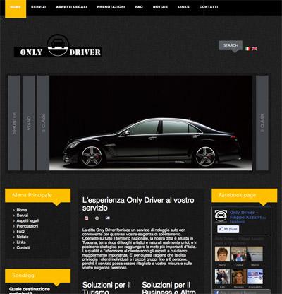 Only Driver Website - Lamberto Salucco