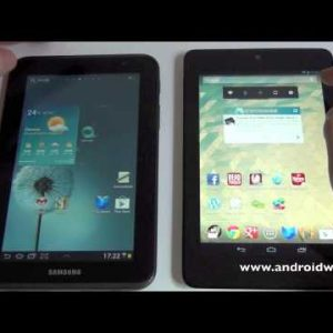"Nexus 7 e Galaxy Tab 2 7"" a confronto - Pareri e Pensieri"