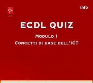 AICA ECDL QUIZ 1, 2 e 3 per Android! Lamberto Salucco