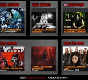 "L.E.S. Metempsicosis ""Rock and metal in my blood""! - Lamberto Salucco"
