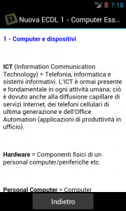 Nuova ECDL 1, Android app, Lamberto Salucco