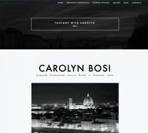 Rebus Multimedia Florence Tuscany With Carolyn Bosi