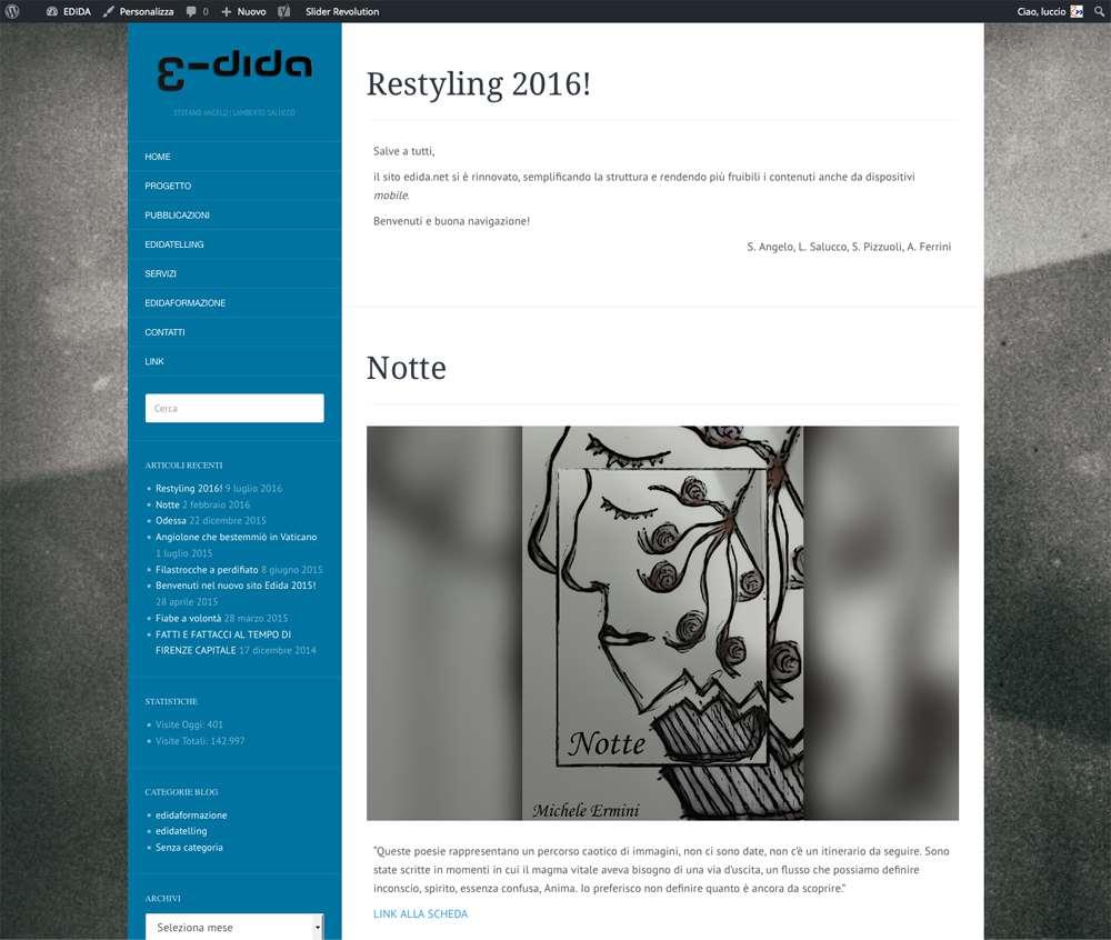 Rebus Multimedia - restyling 2016 EDIDA - Stefano Angelo   Lamberto Salucco