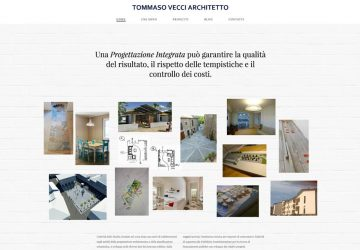 Lamberto Salucco - È online il sito dell'architetto Tommaso Vecci