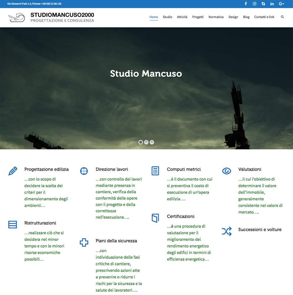 Studio Mancuso 2000 - Geometra Andrea Mancuso Firenze - Lamberto Salucco