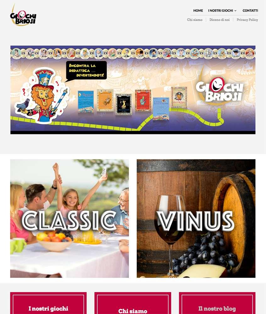Rebus Multimedia - Online il nuovo sito di Giochi Briosi - giochibriosi.it