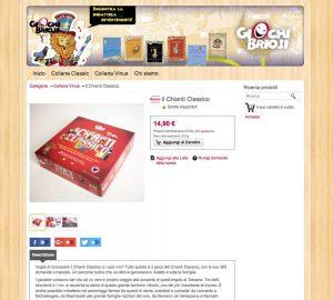 Online lo shop di Giochi Briosi - Nathalie Chaineux - Rebus Multimedia