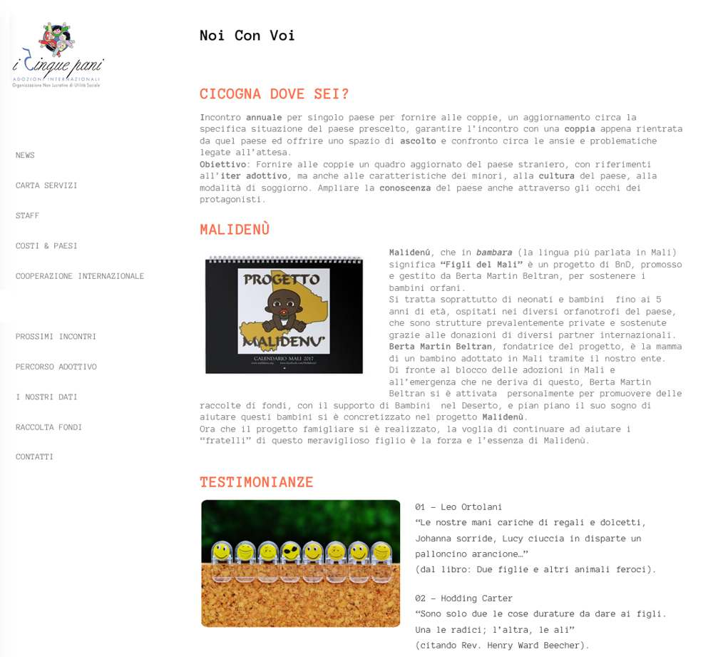Associazione I Cinque Pani - Rebus Multimedia - Lamberto Salucco
