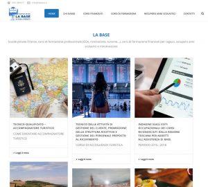 Restyling agenzia formativa La Base - Rebus Multimedia - Lamberto Salucco