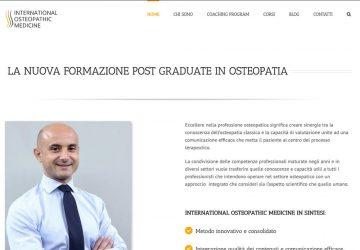 International Osteopathic Medicine è online - Lamberto Salucco - Rebus Multimedia