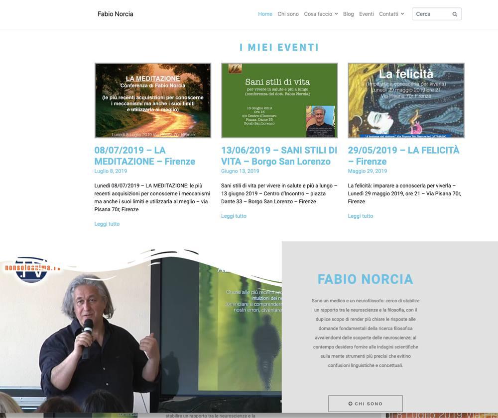Online il nuovo sito di Fabio Norcia - Lamberto Salucco - Rebus Multimedia