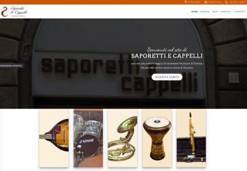 Pubblicato il nuovo sito di Saporetti & Cappelli - Lamberto Salucco - Rebus Multimedia