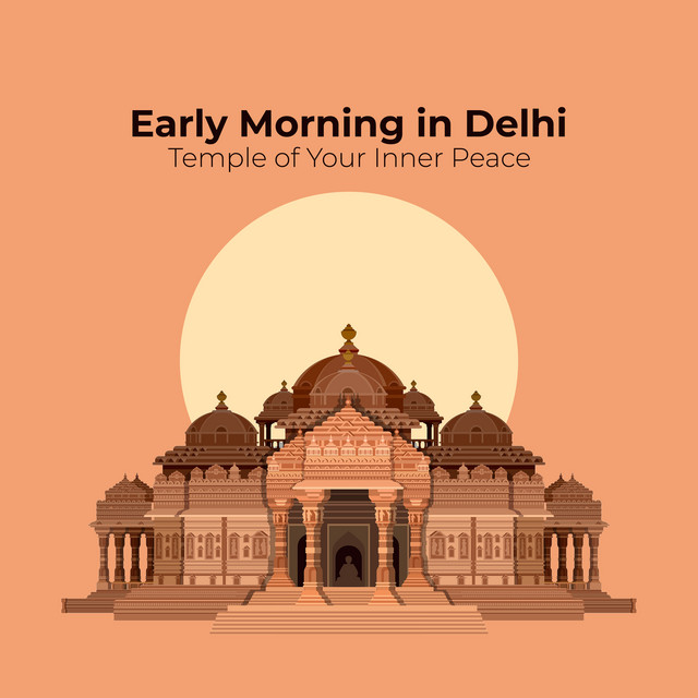 Lamberto Salucco Early Morning In Delhi