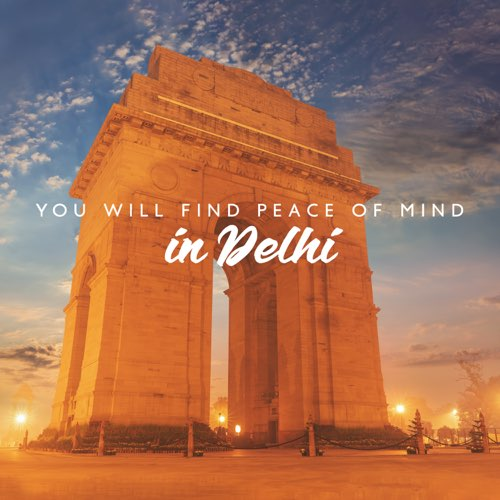 Lamberto Salucco You will find peace of mind in Delhi