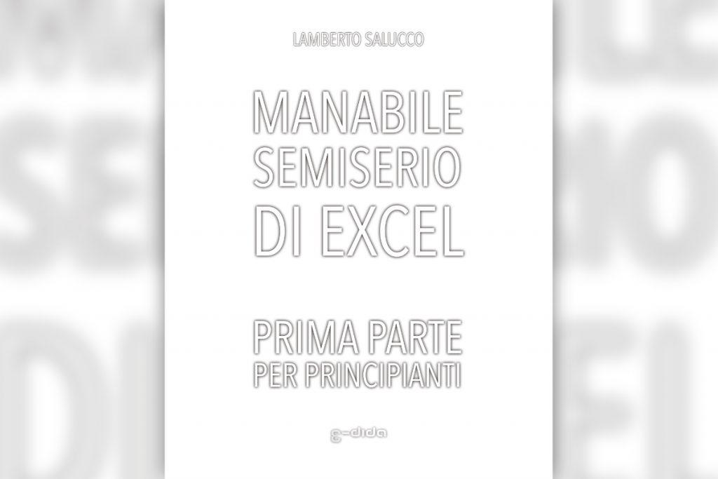Manabile semiserio di Excel - Lamberto Salucco | Rebus Multimedia