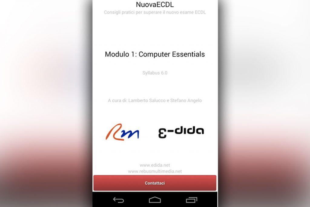 App Nuova ECDL - Lamberto Salucco | Rebus Multimedia