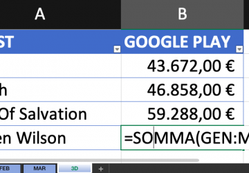 Pillole di Excel - 04 - Punto esclamativo tridimensionali - Lamberto Salucco