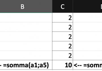 Pillole di Excel - 02 - punto e virgola, due punti e riferimento circolare - Lamberto Salucco