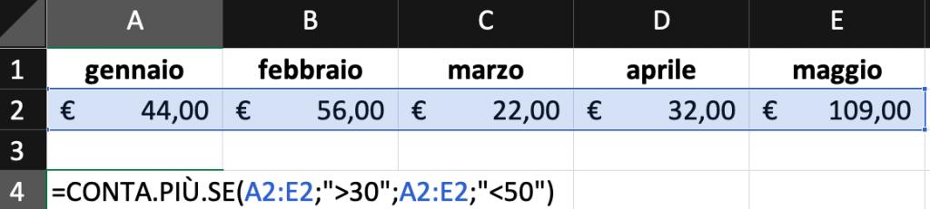 Pillole di Excel - 10 - Conta.più.se - Lamberto Salucco