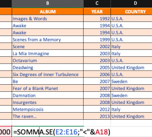 Pillole di Excel - 11 - Somma.se - Lamberto Salucco