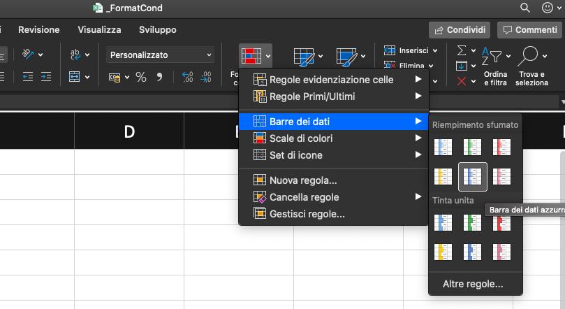 Pillole di Excel - 16 - Formattazione condizionale - Lamberto Salucco