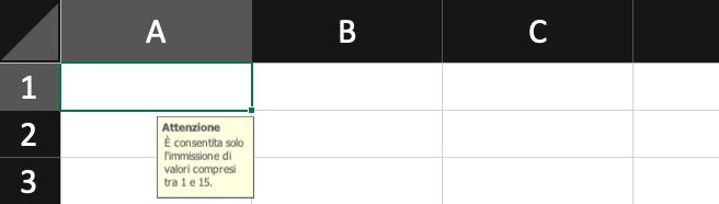Pillole di Excel - 17 - Convalida Dati - Lamberto Salucco Rebus Multimedia