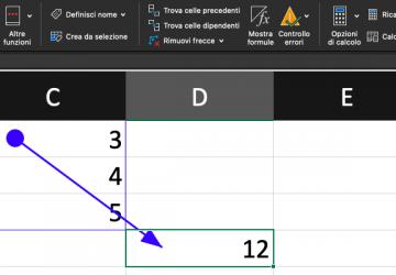 Pillole di Excel - 18 - Precedenti, Dipendenti, Mostra Formule - Lamberto Salucco
