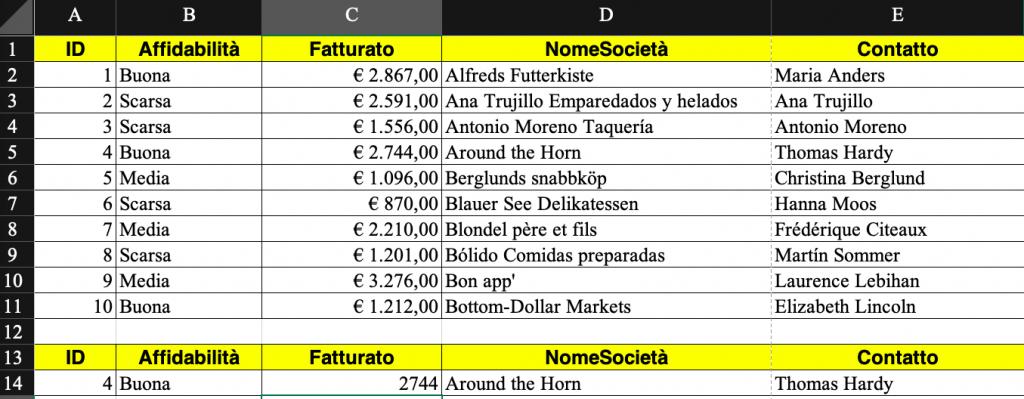Pillole di Excel - 24 - Cerca.verticale - Lamberto Salucco Rebus Multimedia