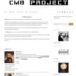 CMB project website restyling 2016