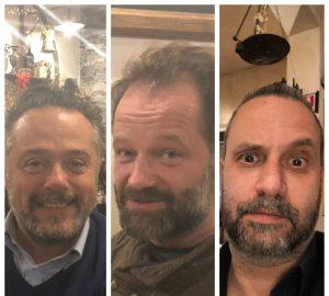 Cena L.E.S. 11/12/2018 - Fabio Lazzeri - Michele Ermini - Lamberto Salucco